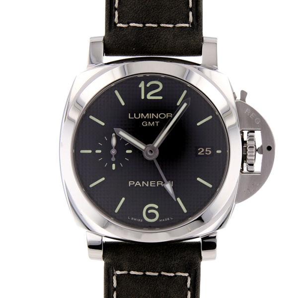 パネライ ルミノール 1950 3デイズ GMT アッチャイオ PANERAI LUMINOR 1950 3 DAYS GMT ACCIAIO/PAM00535【新品】【メンズ】
