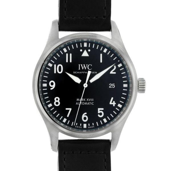 アイダブルシー パイロット ウォッチ マーク XVIII IWC PILOTS WATCH MARK XVIII/IW327001【中古】【メンズ】