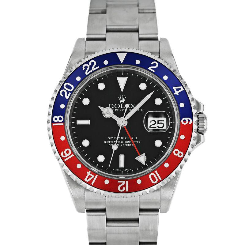 ロレックス GMTマスターII ROLEX GMT-MASTER II/16710【中古】【メンズ】