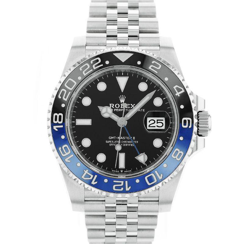 ロレックス GMTマスターII ROLEX GMT-MASTERII/126710BLNR【中古】【メンズ】