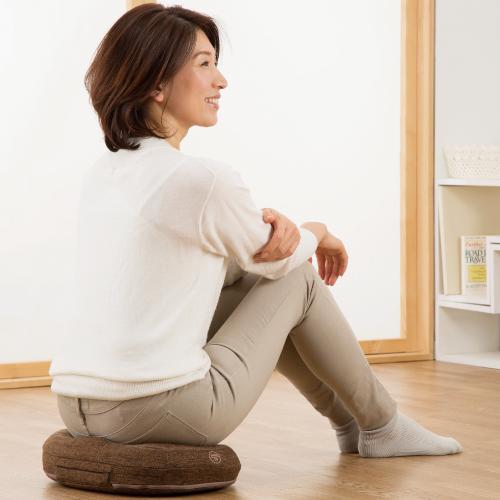 キュットブル 骨盤底筋 クッション 産後 筋力低下 エクササイズ 骨盤矯正