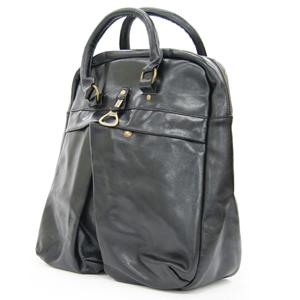 【SOL】 レザーボーリングバッグ / ブラック [ ボーリングバッグ / 鞄 ]【smtb-k】【w4】