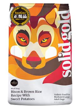 ソリッドゴールド ウルフキング (大型成犬用) 12.9kg SOLID GOLD 【犬用/ドッグフード/ドライフード/大型犬/成犬】 【送料無料】