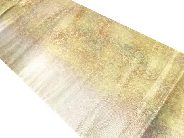 引箔のり散らし模様織り出し袋帯【リサイクル】【中古】, 麻生区:8423d645 --- nichiiken.jp
