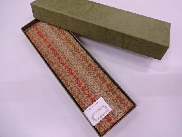 q新品 龍村美術織物製 チャンカイの申男物角帯