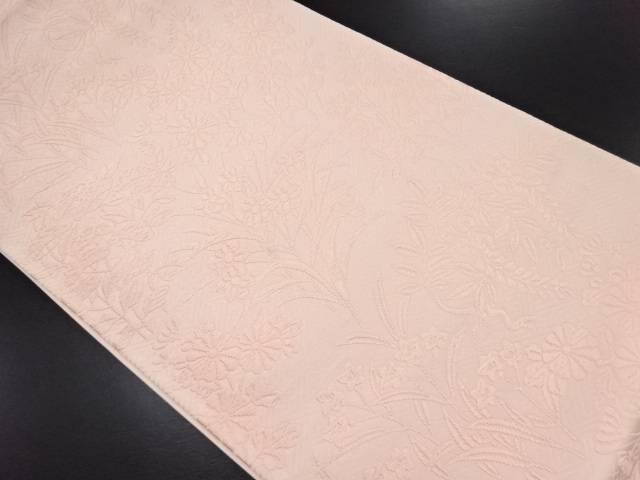 未使用品 唐織秋草模様織り出し袋帯【リサイクル】【中古】