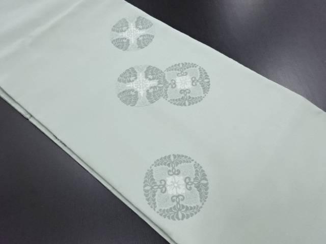 本唐織華紋織り出し名古屋帯【リサイクル】【中古】