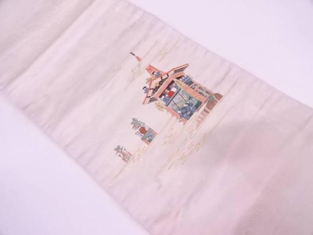 山鉾模様刺繍袋帯【リサイクル】【中古】, ゴルフ観音さま:953d0533 --- insidedna.ai