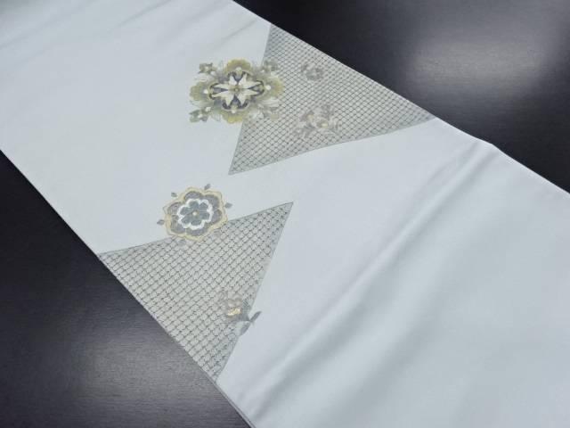 汕頭蘇州刺繍金彩華紋模様袋帯【リサイクル】【中古】【09OFF】