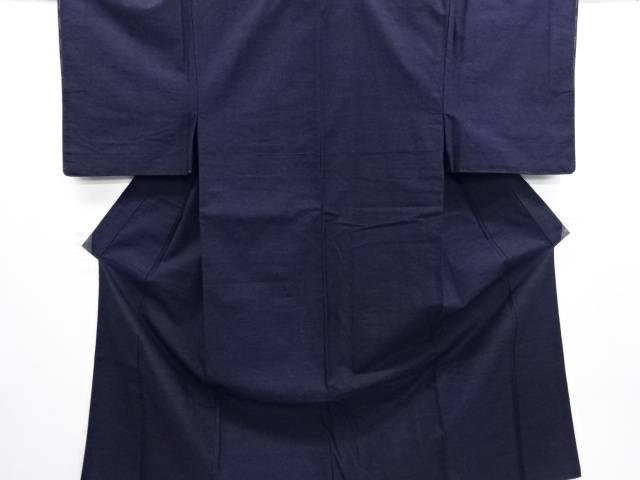 本場結城紬男物着物アンサンブル・長襦袢セット(石下)【リサイクル】【中古】