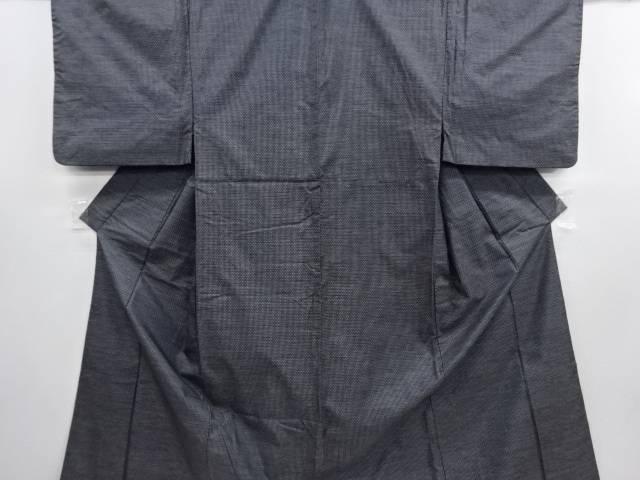 亀甲絣柄織り出し本場村山大島紬着物アンサンブル【リサイクル】【中古】