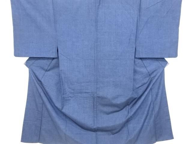 手織り真綿紬男物着物アンサンブル(キングサイズ)【リサイクル】【中古】