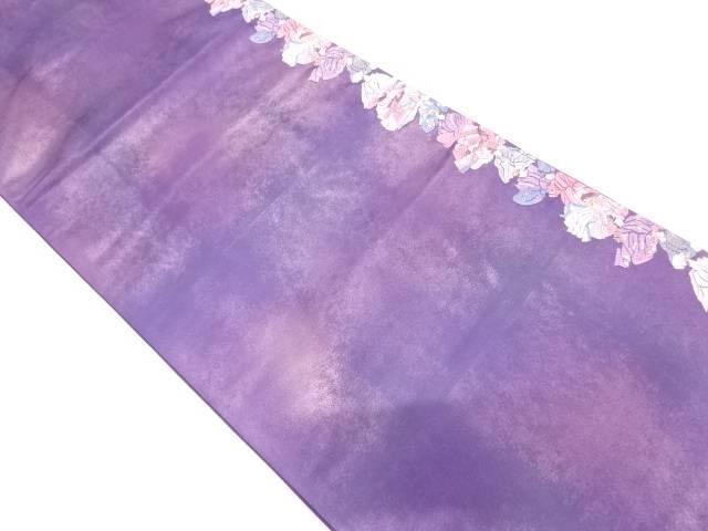 時代人物模様織出し袋帯【リサイクル】【中古】