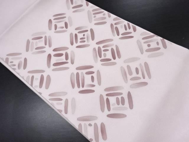 抽象模様名古屋帯【リサイクル】【中古】