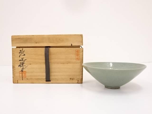 池順鐸造 高麗青磁茶碗