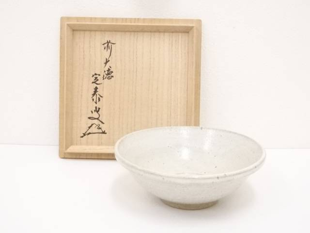 琉球花園茶碗(前大徳寺小堀定泰書付)