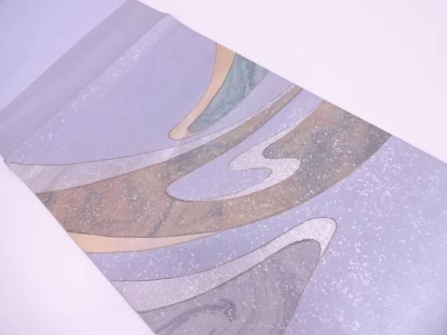 未使用品 川島織物製 抽象模様袋帯【リサイクル】【中古】
