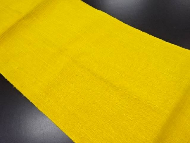 手織り真綿紬名古屋帯【リサイクル】【中古】