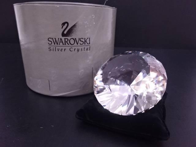 SWAROVSKI ダイヤモンドフィギュリン(ペーパーウェイト)