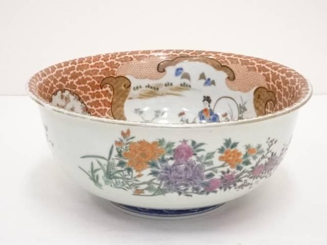 明治期 伊万里焼 錦手鉢