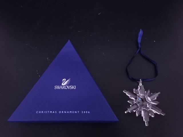 SWAROVSKI CHRISTMAS ORNAMENT(2006)