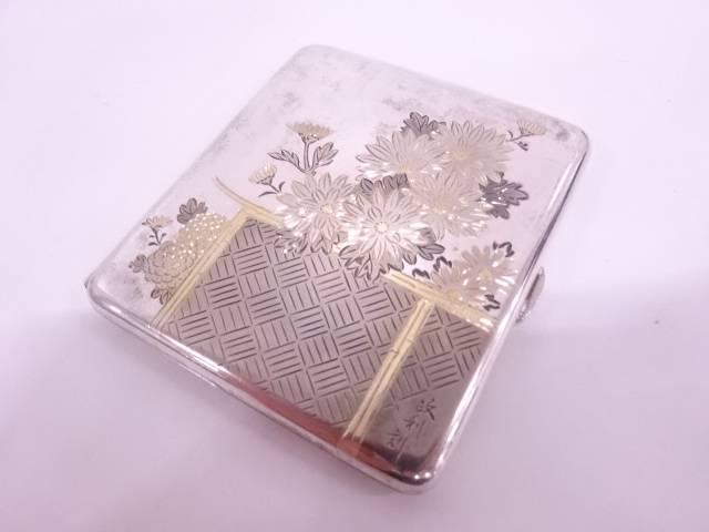 STERLING950 政利刻菊紋ケース(118グラム)