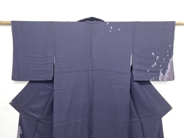 bdc158ea1c70 未使用品 仕立て上がり 帯揚げ 銘仙 森林に桜模様訪問着:Kimono-Shinei ...