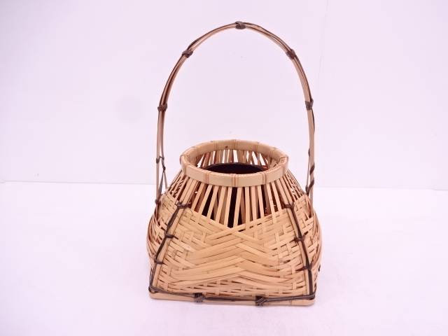 竹編み宗全籠