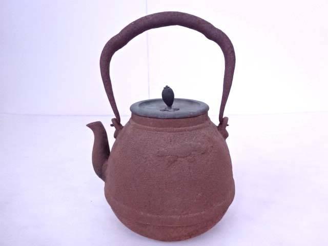 龍文堂鉄瓶