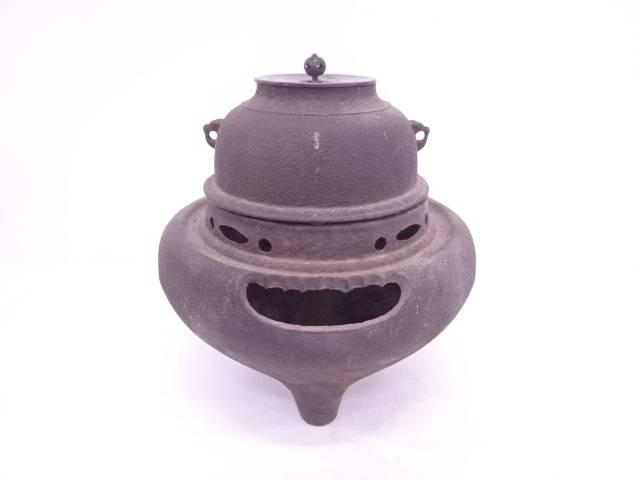 鉄朝鮮風炉・真形羽釜