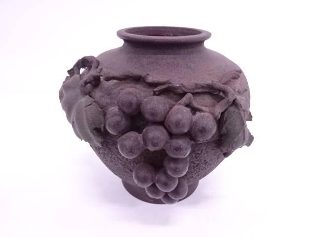 葡萄文花瓶