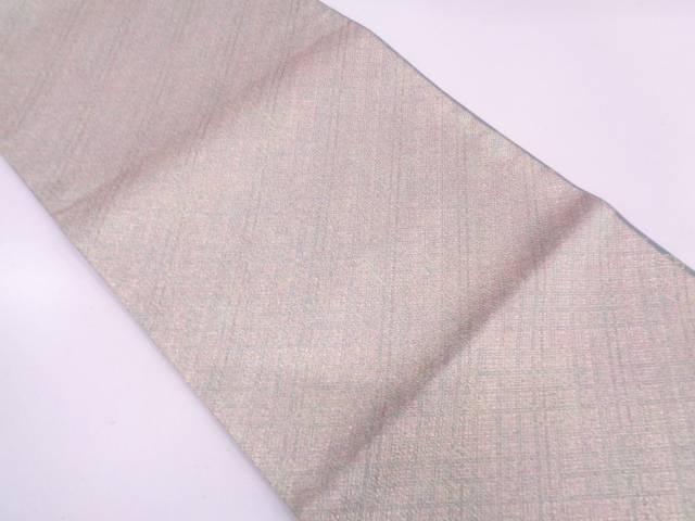 未使用品 五匠織物製 抽象模様織出し全通袋帯(未仕立て)【リサイクル】【中古】