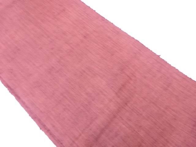 手織り紬開き名古屋帯【リサイクル】【中古】