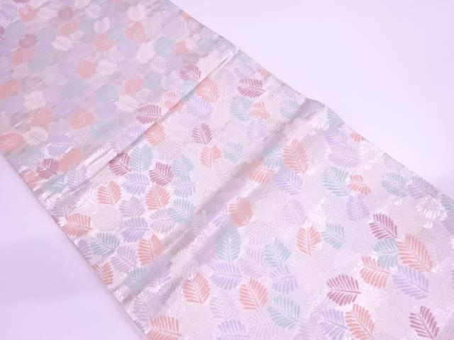若松模様織出し袋帯【リサイクル】【中古】