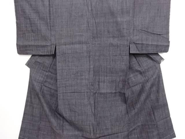 未使用品 手織り真綿紬男物着物【リサイクル】【中古】