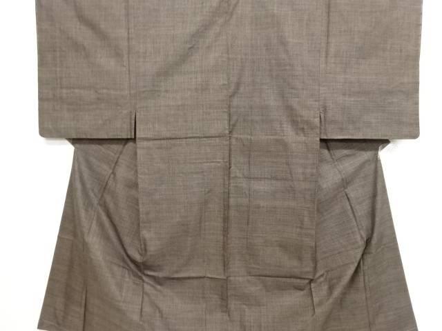 未使用品 本場泥大島紬120亀甲男物着物アンサンブル【リサイクル】【中古】
