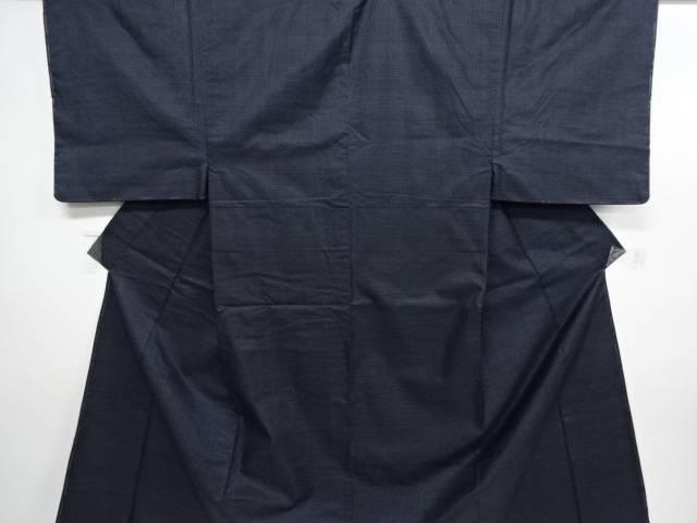 未使用品 本場泥大島紬80亀甲男物着物アンサンブル【リサイクル】【中古】