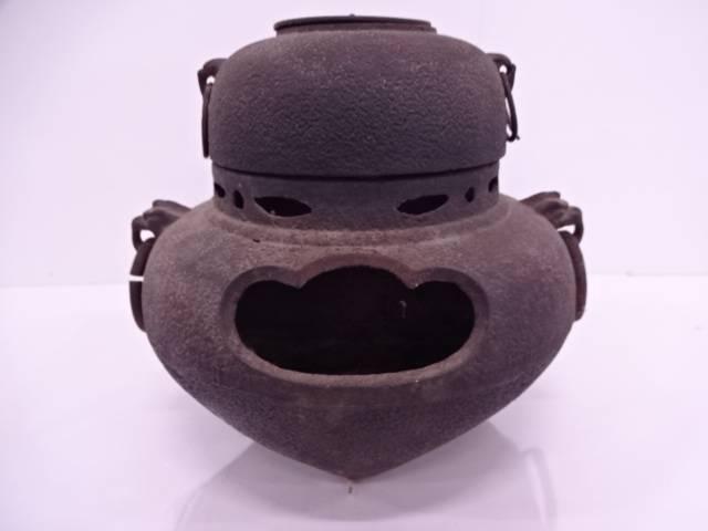 鉄朝鮮風炉・切合釜