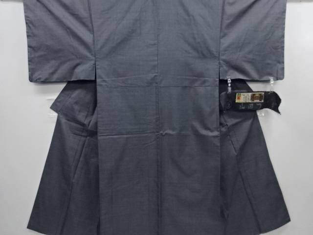 未使用品 仕立て上がり 本場泥大島紬100亀甲男物着物アンサンブル(キングサイズ)