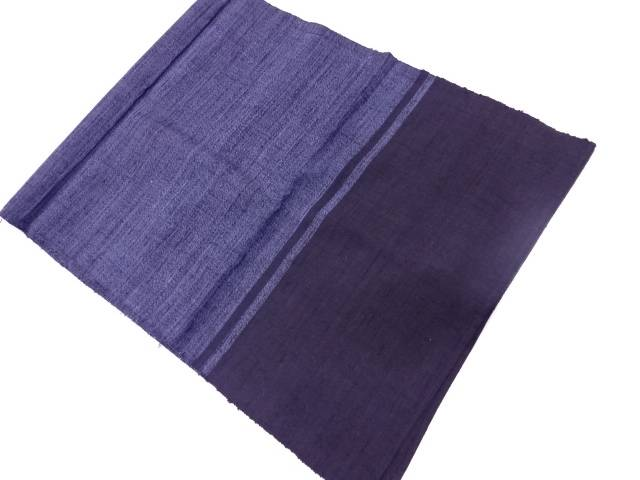 正絹 手織り紬織り柄男物兵児帯【リサイクル】【中古】