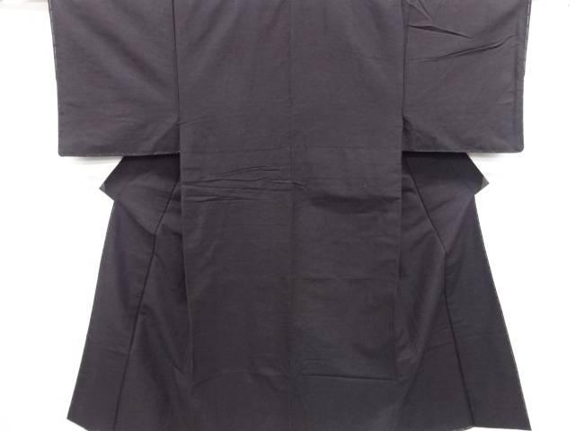 未使用品 手織り節紬男物着物アンサンブル【リサイクル】【中古】
