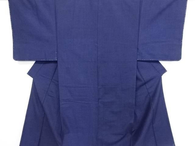 未使用品 手織り真綿紬男物着物アンサンブル【リサイクル】【中古】
