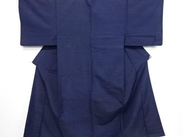 手織りひげ紬男物着物アンサンブル(長身サイズ)【リサイクル】【中古】