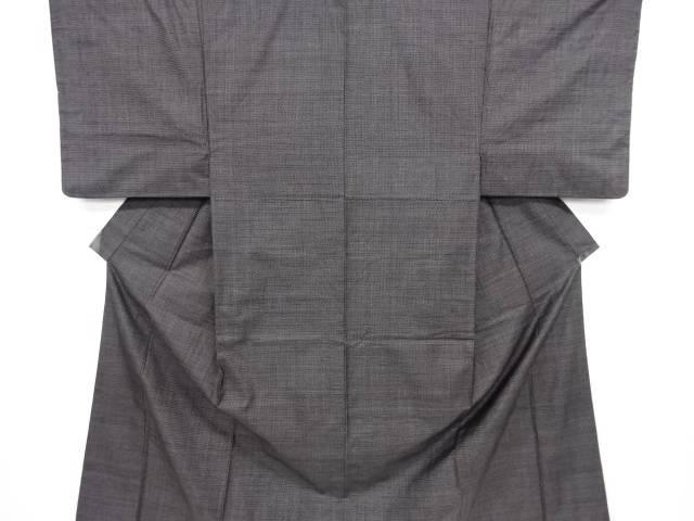 本場泥大島紬100亀甲男物着物・長襦袢セット【リサイクル】【中古】