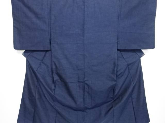 亀甲絣織出手織り紬男物着物アンサンブル【リサイクル】【中古】