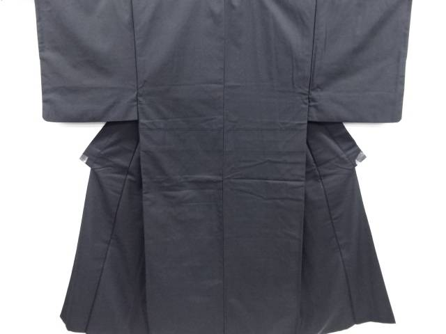 手織り髭紬男物着物・長襦袢セット【リサイクル】【中古】