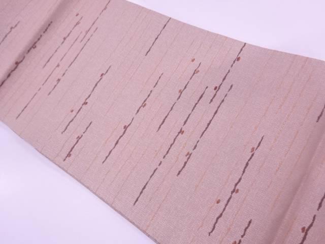 変わり霞模様織出し袋帯【リサイクル】【中古】≪06OFF≫