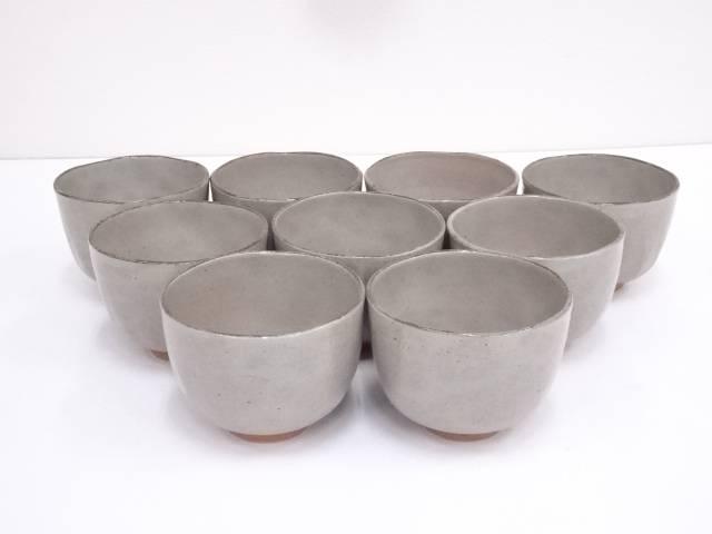 京焼 文月和香造 御本手茶碗9客