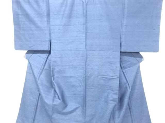 手織り紬男物着物アンサンブル長襦袢・兵児帯セット【リサイクル】【中古】