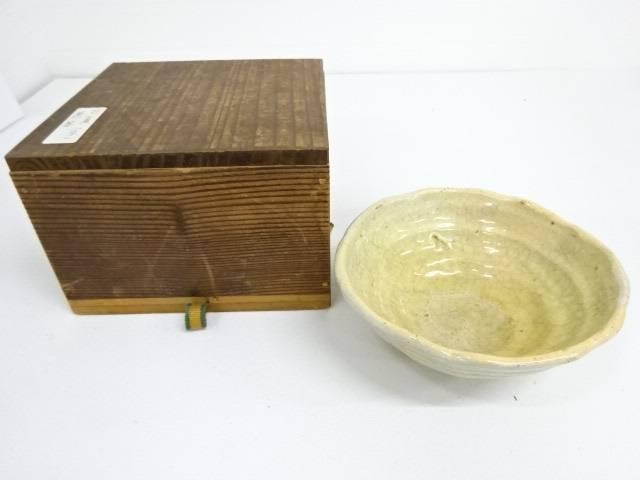 京焼 古夏 平茶碗(共箱入)(natsuk)